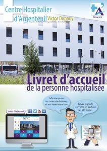 livret d'accueil 2019 de la personne hospitalisée au Centre hospitalier d'Argenteuil.