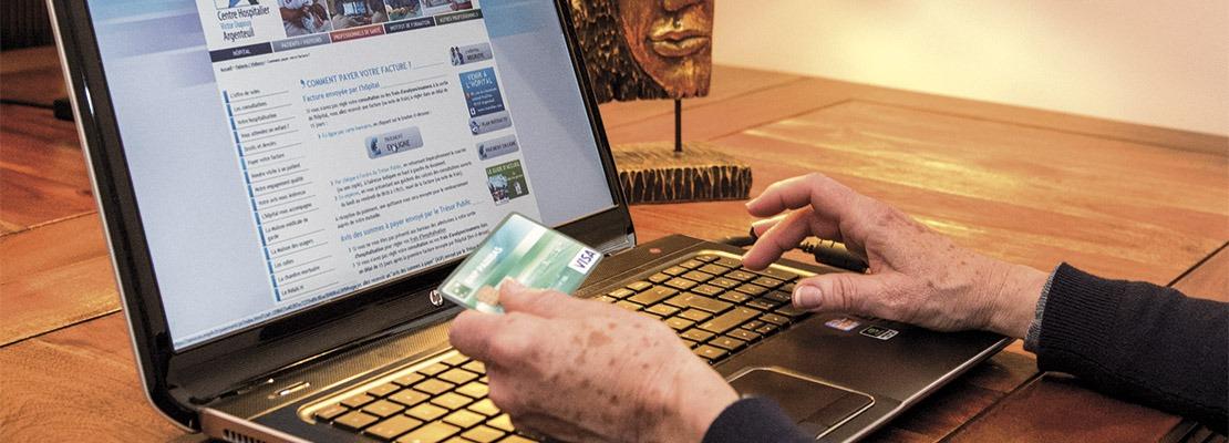 payer sa facture sur le site internet de ch argenteuil