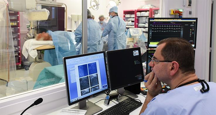 Salle de coronarographie