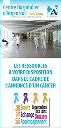 Plaquette annonce d'un cancer