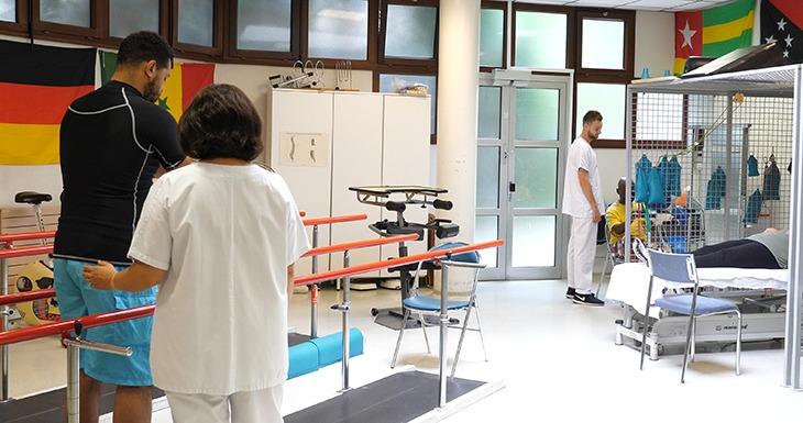 salle médecine physique