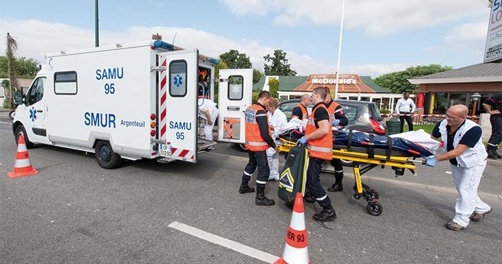 Service mobile d'urgence et de réanimation (SMUR)