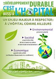Développement durable : un enjeu majeur à l'hopital