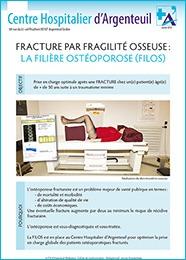 Fiche fracture par fragilité osseuse : la filière ostéoporose (filos)