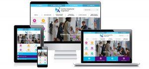 Le nouveau site Internet de l'hôpital