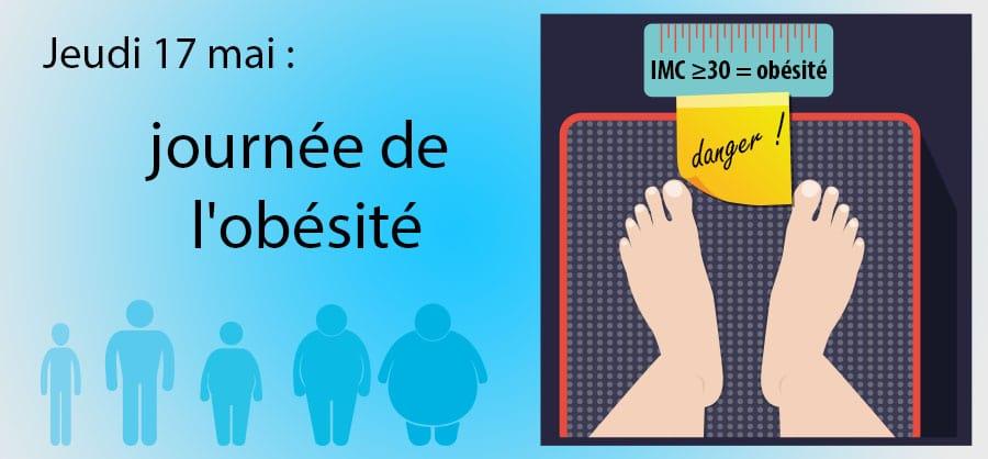 Jeudi 17 mai : journée de l'obésité