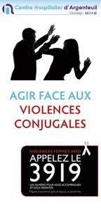 plaquette Violences conjugales
