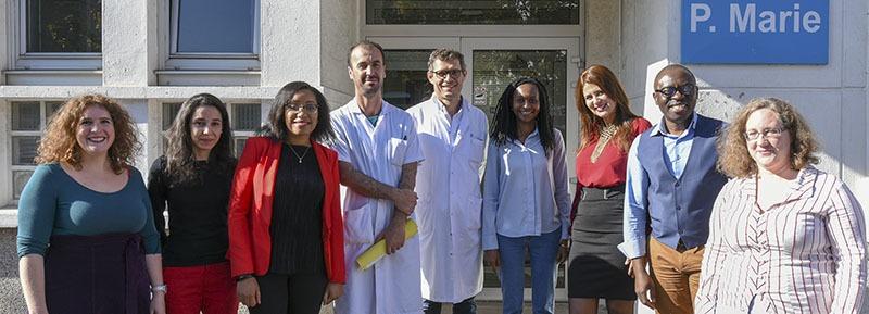 photo équipe recherche clinique 2018