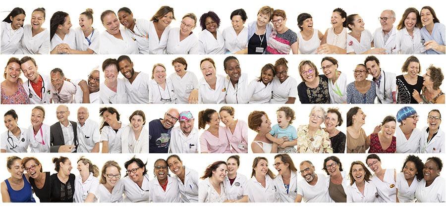 photo fresque LOL project au centre hospitalier d'Argenteuil