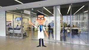 Vignette de la vidéo de présentation des admission à l'hôpital d'Argenteuil