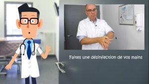 Vignette de la vidéo de présentation de l'hygiène des mains à l'hôpital d'Argenteuil