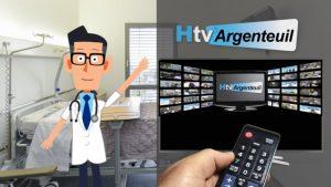 Vignette de la vidéo de présentation de la location de tv de l'hôpital d'Argenteuil