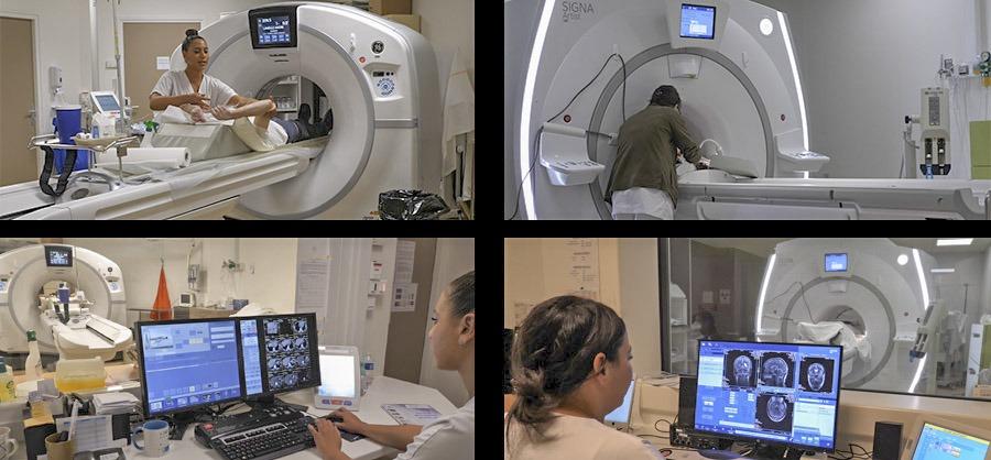 Nouvelle plateforme d'imagerie médicale scanner IRM