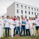 rugby à l'hôpital