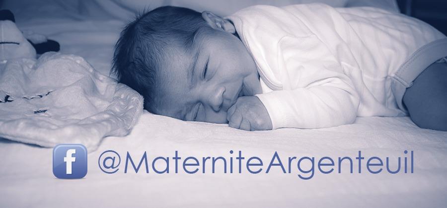 page Facebook maternité d'Argenteuil