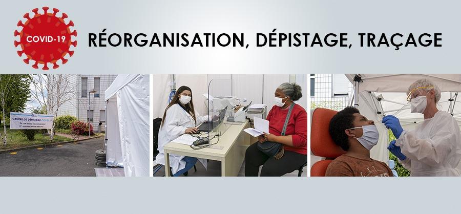 Covid-19 : réorganisation, dépistage, traçage au CH d'Argenteuil
