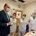 Visite du Premier Ministre Jean Castex